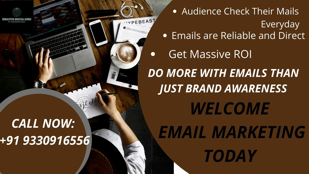Although it is not encouraged to send emails daily, a brand must be sending ingenious, innovative, and efficient emails, at particular time intervals.  visit website: https://t.co/78PRcCir93 #marketing #digital #digitalmarketing #SEOservice #services #SEO #SEOanddigitalmarketing https://t.co/gwJD8CYAov
