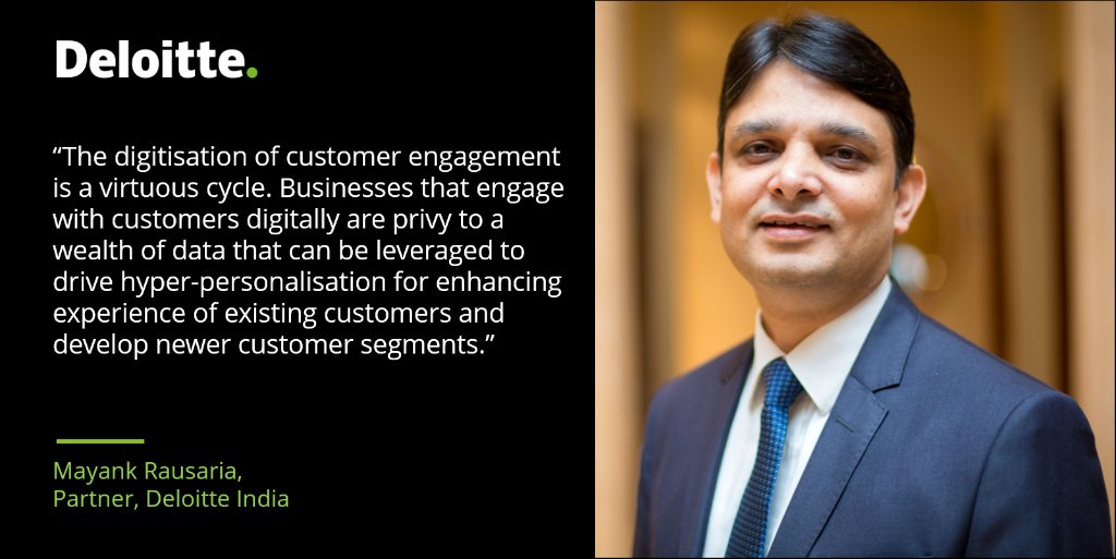 Mayank Rausaria, Partner, Deloitte India will moderate a panel on '#Design thinking and #digital #transformation, hyper-relevance and customer-centricity'. Join us for the @EconomicTimes Global Digital League webinar today at 1:25 p.m. India time. https://t.co/EZUvX5hr47 https://t.co/xl5fcw886L