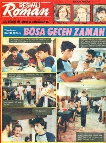Madem günlerden #tbt benden de gelsin😊 1984 Ses Dergisi, Fotoroman 😊 #tbt🔙📸  #aktör #actor #fotoroman #oyuncu #nostalji https://t.co/68G7KbbMGG