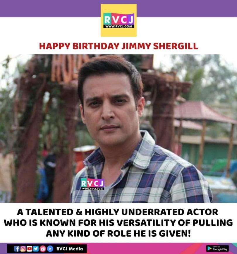 Happy Birthday @jimmysheirgill ♥️ #HappyBirthdayjimmySheirgill #bollywood #actor #JimmySheirgill #rvcjmovies https://t.co/f5Ds5dW5RY