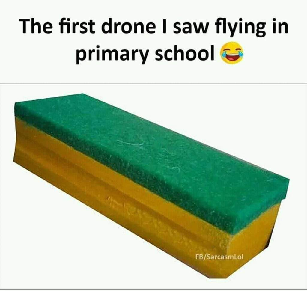 Some of us must have faced these #drones during #school days...  I am sure it was very harsh that time, but on retrospection such experiences made #life so worthwhile...