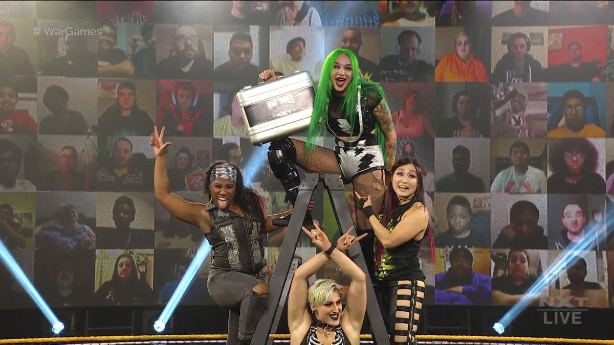 "New WWE NXT ""Takeover: WarGames 2020"" Match, Team Shotzi Finalized, WarGames Advantage"