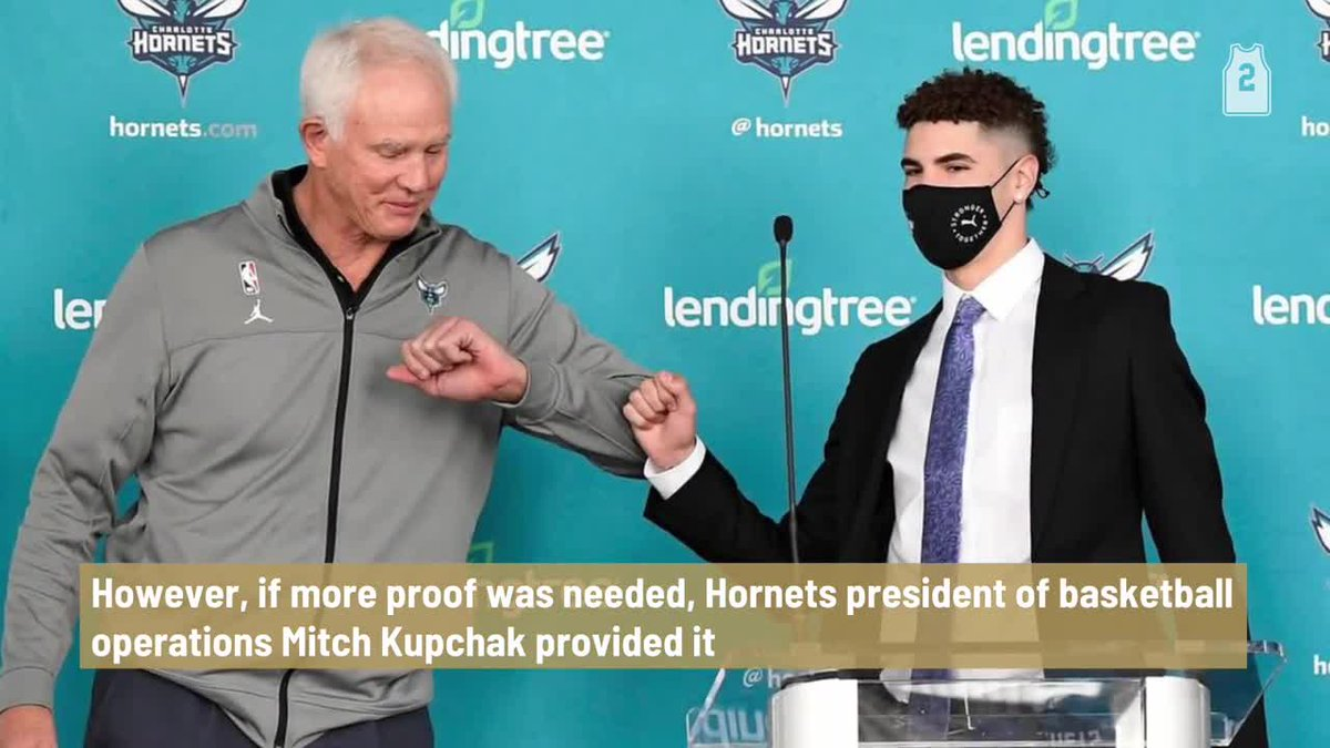 Hornets president Mitch Kupchak shares story of LaMelo Ball's first night in Charlotte https://t.co/aQQu6H1tVs https://t.co/ZclUFT3lpu