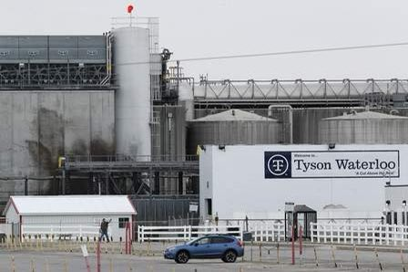 📍TYSON FOODS & Iowa Gov Kim Reynolds both complicit in outbreak. @TysonFoods even had a Wuhan factory, so it knew #COVID19 bad. Yet, when cases cropped up in Iowa, it failed to proactively provide PPEs. Instead, Waterloo managers deceived their employees. thegazette.com/subject/opinio…