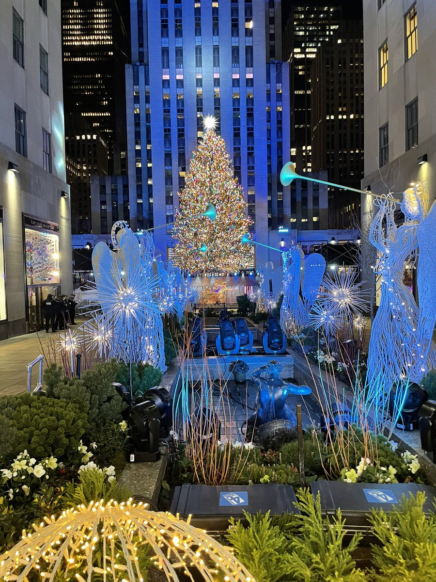See? Girlfriend just needed better lighting and a few extensions #RockCenterChristmasTree