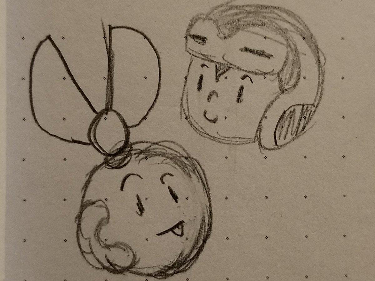 Doodle #CutMan #MightyNo9 #MegaMan https://t.co/igOIxOB9kp