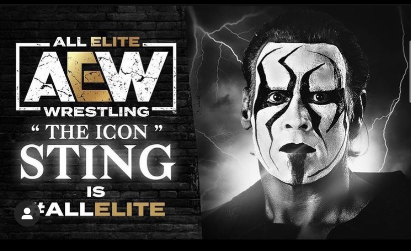 """@AEW   """"It's Stiinngg"""" glad to see Sting again in the professional wrestling   got to admit this week of Aew Dynamite #WinterIsComing  is hella awesome 🔥  Congrats also to Kenny Omega for winning the #Aew tonight"""