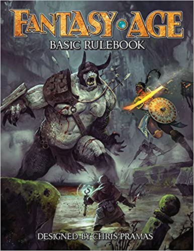 Fantasy AGE Basic Rulebook Hardcover  25% off plus there's a $4.94 off coupon  #ad 2