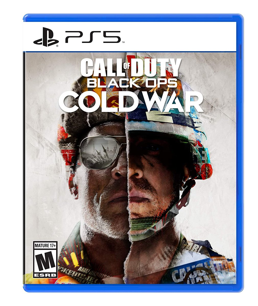 Call of Duty: Black Ops Cold War (PS4/XBO) is $49.94 at Walmart, PS5/XSX $59.94  2
