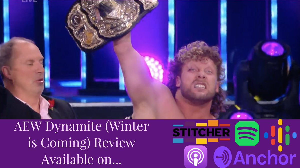 #AEWDynamite really brought the heat tonight from Sting's debut, to Kenny Omega winning the #AEW Championship before revealing that he's headed to #ImpactWrestling! Our review is out NOW! Click the link and check it out! #AEWonTNT  Podcast Link: