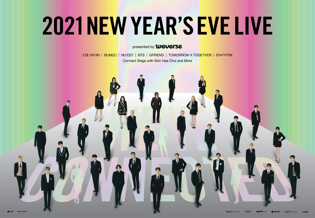 Weverse On Twitter 2021 New Years Eve Live Presented By Weverse Online Live Streaming Ticket Information Get More Information About The New Special Artists Ticket Purchase Benefits And More More Info