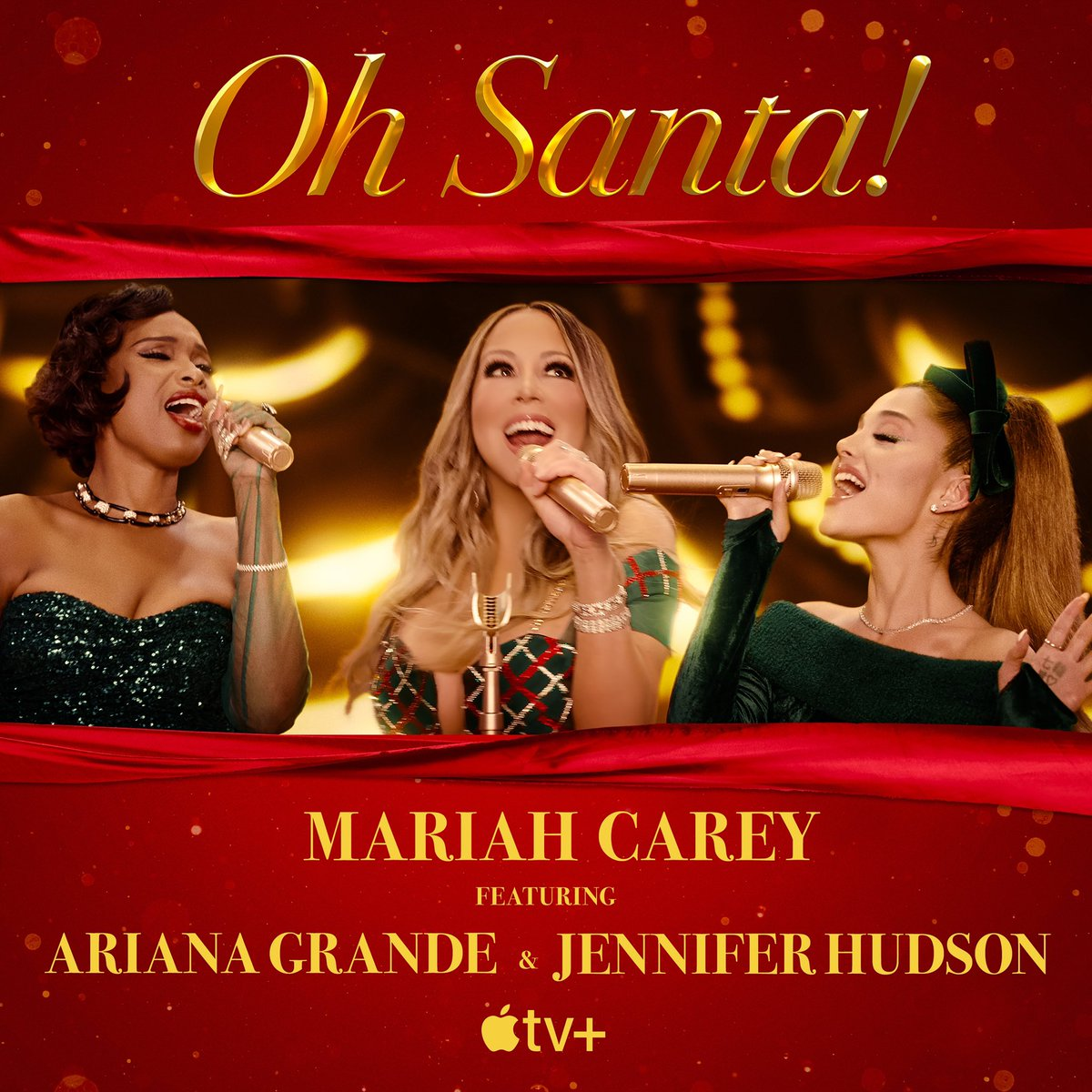 Replying to @MariahCarey: MC x AG x JH 🎤🎤🎤🎅🏼 #OhSanta