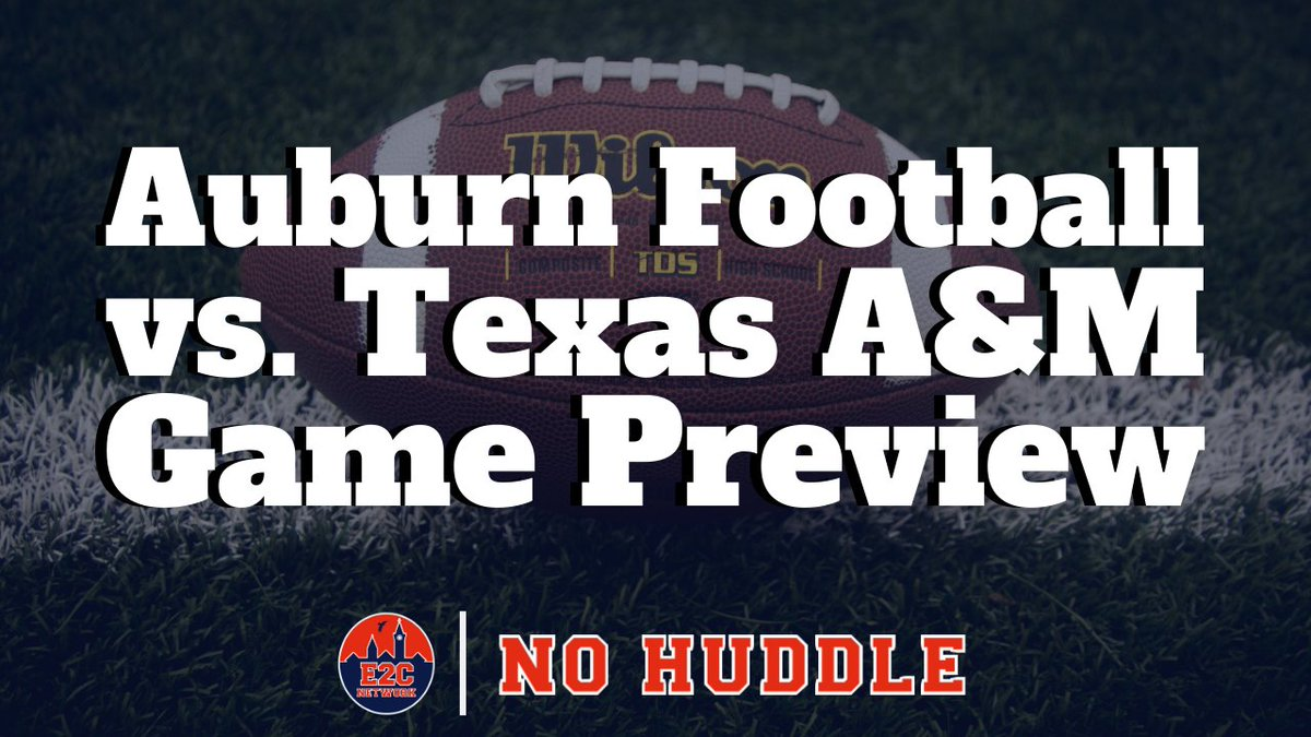 🎧 NEW #PODCAST EPISODE  ➡️ LISTEN: https://t.co/T2gGshVSZn ➡️ SUBSCRIBE: https://t.co/on8iwa0BVq  🗣 TOPIC: @AuburnFootball vs. Texas A&M Preview  👥 HOST(S): @AJayJay_ | Jared Davis #WarEagle https://t.co/rdz6w9wHX6