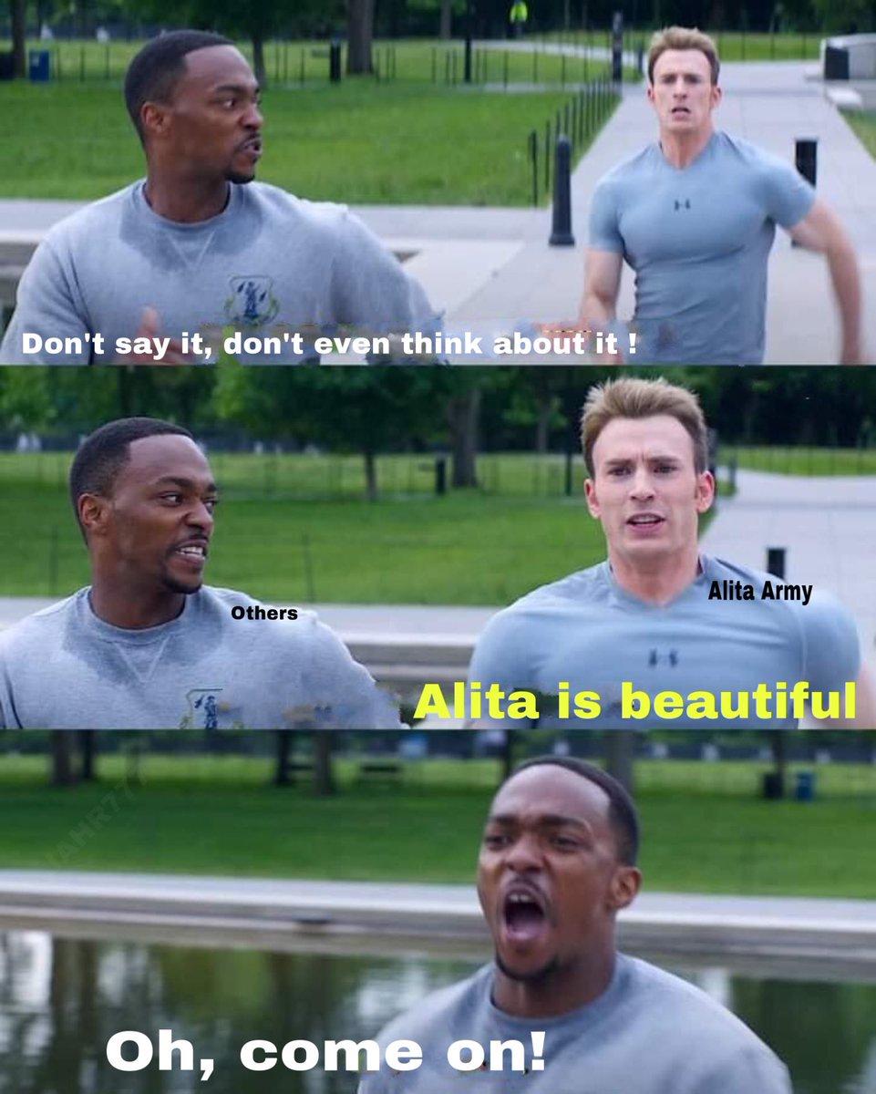 No cabe duda que el capitán tiene la razón, otros piensan diferente. #AlitaArmy #AlitaBattleAngel #AlitaSequel