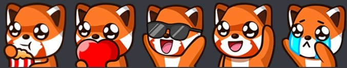 Any artists I can commission who are brave enough to work with me on re-working my red panda emotes ?  Will require a good discussion. https://t.co/SBwBDODRnx