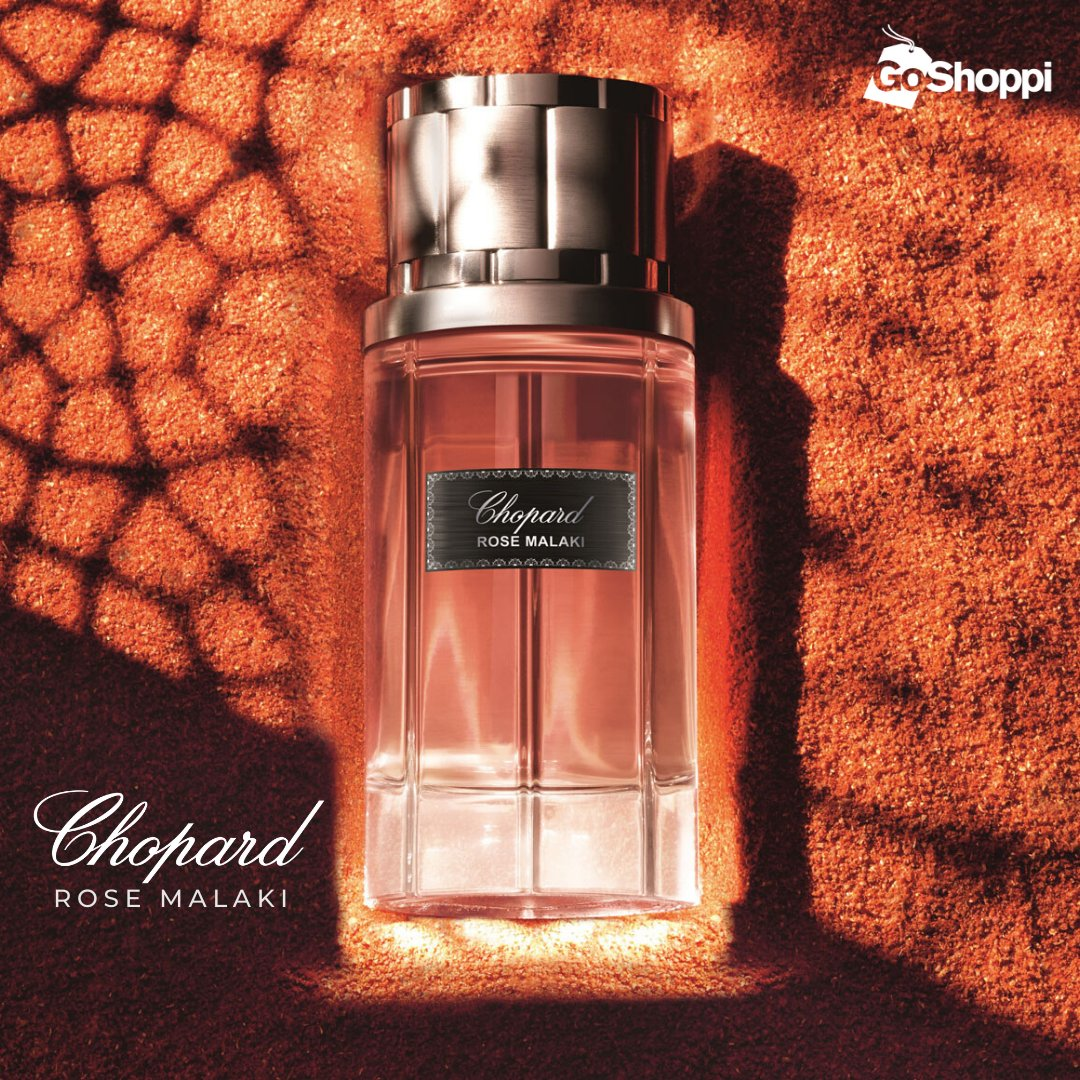 Meet the new symbol of love for men! Rose Malaki Perfume by Chopard. With the notes of Saffron, Damask Rose, and Atlas cedarwood this #fragrance provides an oriental-spicy composition in which rose plays the main role. Check it out:  #Perfume #UAE #Dubai