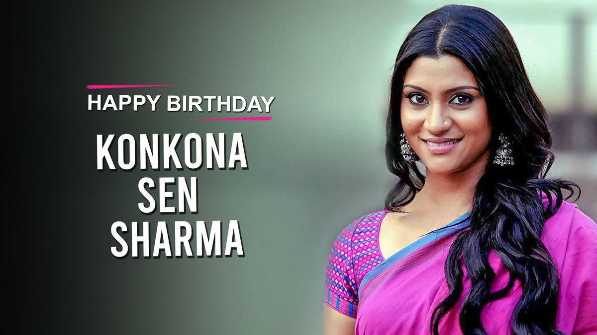 .@tipsofficial wishes the multi-talented Actress, Writer & Director, @konkonas a very Happy Birthday! 💖  #HappyBirthdayKonkonaSenSharma #KonkonaSenSharma