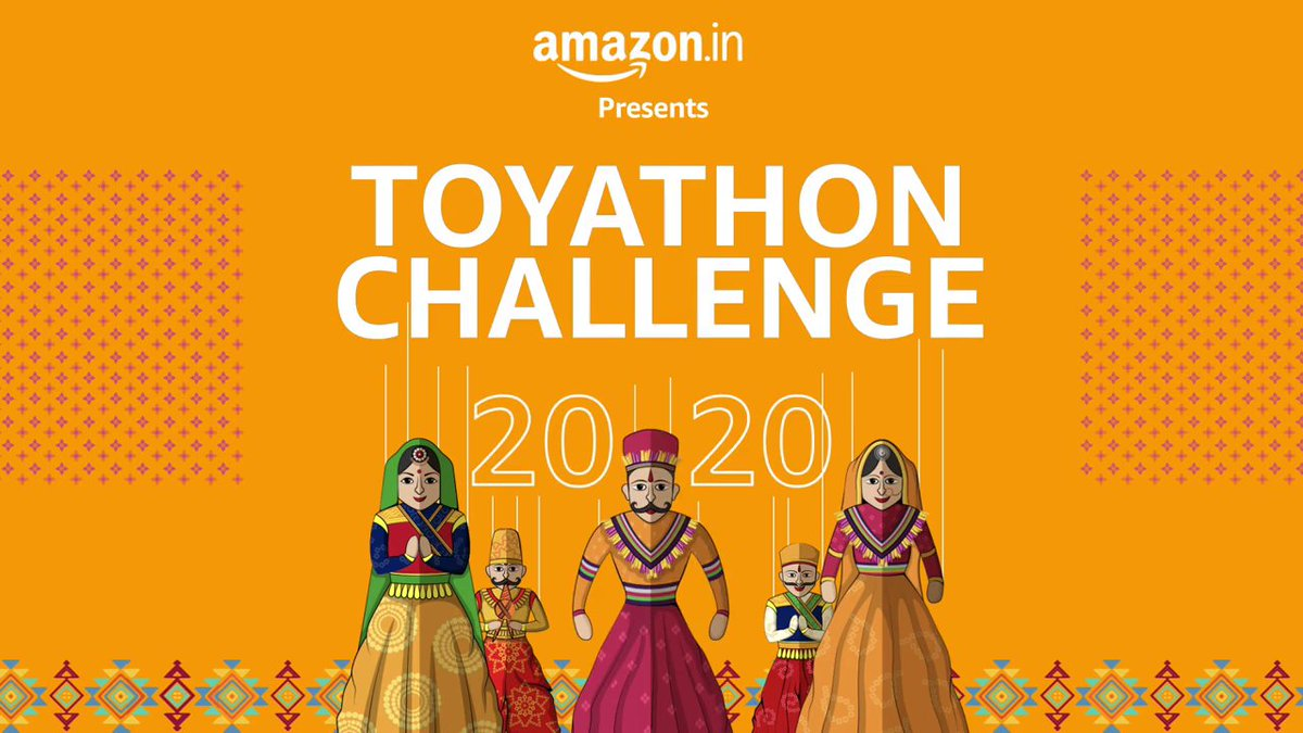 Today, we announce the launch of #ToyathonChallenge2020. This will enable young innovators to come together & respond to the Hon'ble PM @narendramodi's call for an #AtmaNirbharBharat & innovate in toy technology & design that reflect Indian ethos & values.