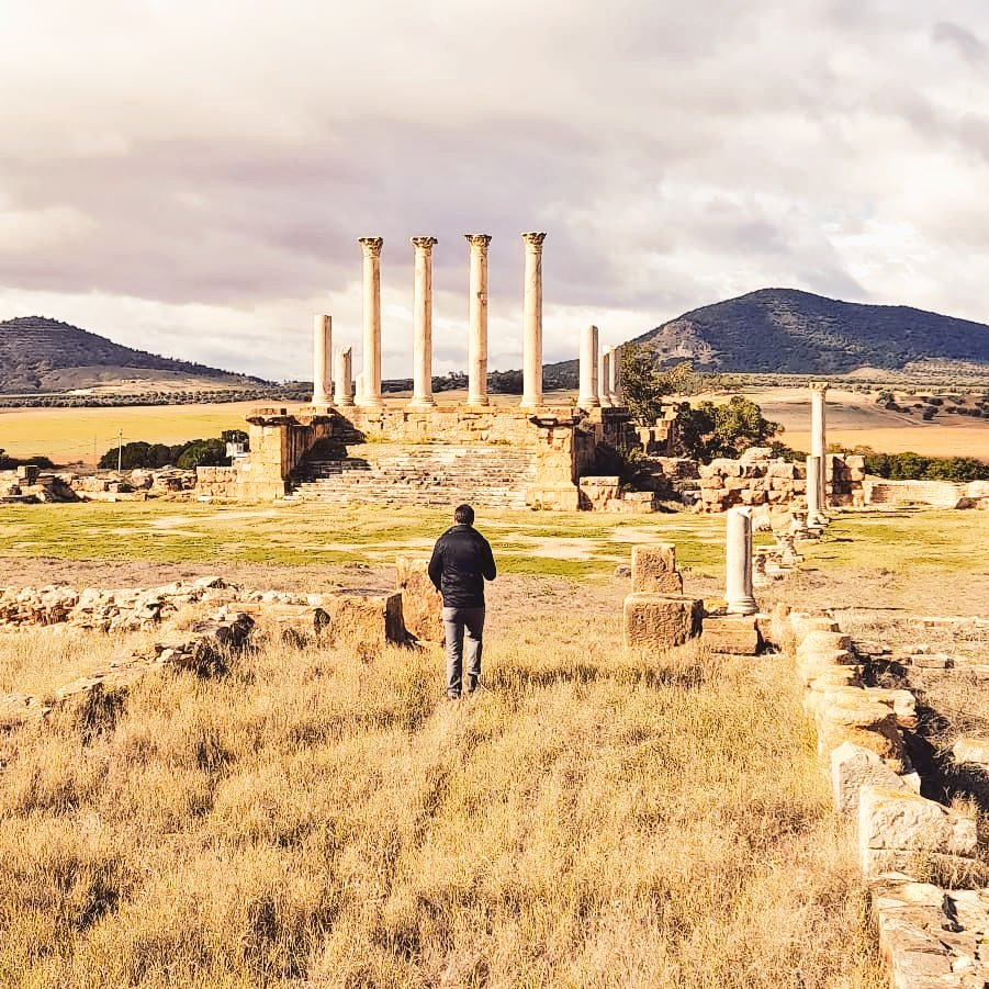 Exploring Thuburbo Majus, amazing Roman site only 60km south-west of Tunis. Tunisia is an archaeology lover's paradise!  #Tunisia #Tunisie #AncientRome #NorthAfrica #ThuburboMajus #ThursdayThoughts  #exploremore #BradtTravels #BradtGuides