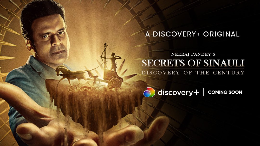 'Secrets of Sinauli: Discovery of the Century' is far from conclusion. Friday storytellers is excited to partner with Discovery India and bring this narrative to our audiences.   Soon on @discoveryplusIN   @FridayStorytel1 @BajpayeeManoj   #IndiaKeLiye #DiscoveryPlusOriginals