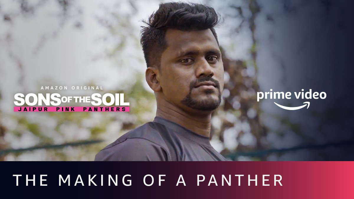 He is a man of few words, but his life has a story to tell. #SonsOfTheSoil, New Series, Dec 4 on @PrimeVideoIN. 📽️:   @juniorbachchan #NileshSalunke @suhailchandhok  #JaipurPinkPanthers #JaiHanuman #PantherSquad
