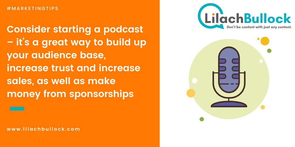 Podcasting is a great promotional tool - and a great way to make extra money: #BloggingTips #MarketingTips #PodcastingTips  https://t.co/g0UHgysxlP https://t.co/2WSabTL245