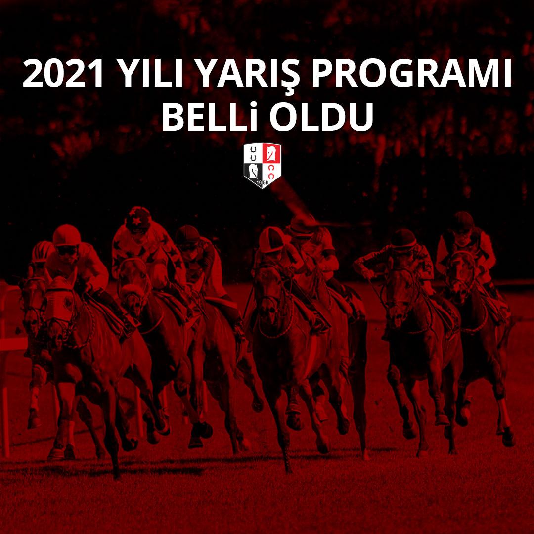 2021 Yılı Yarış Programı