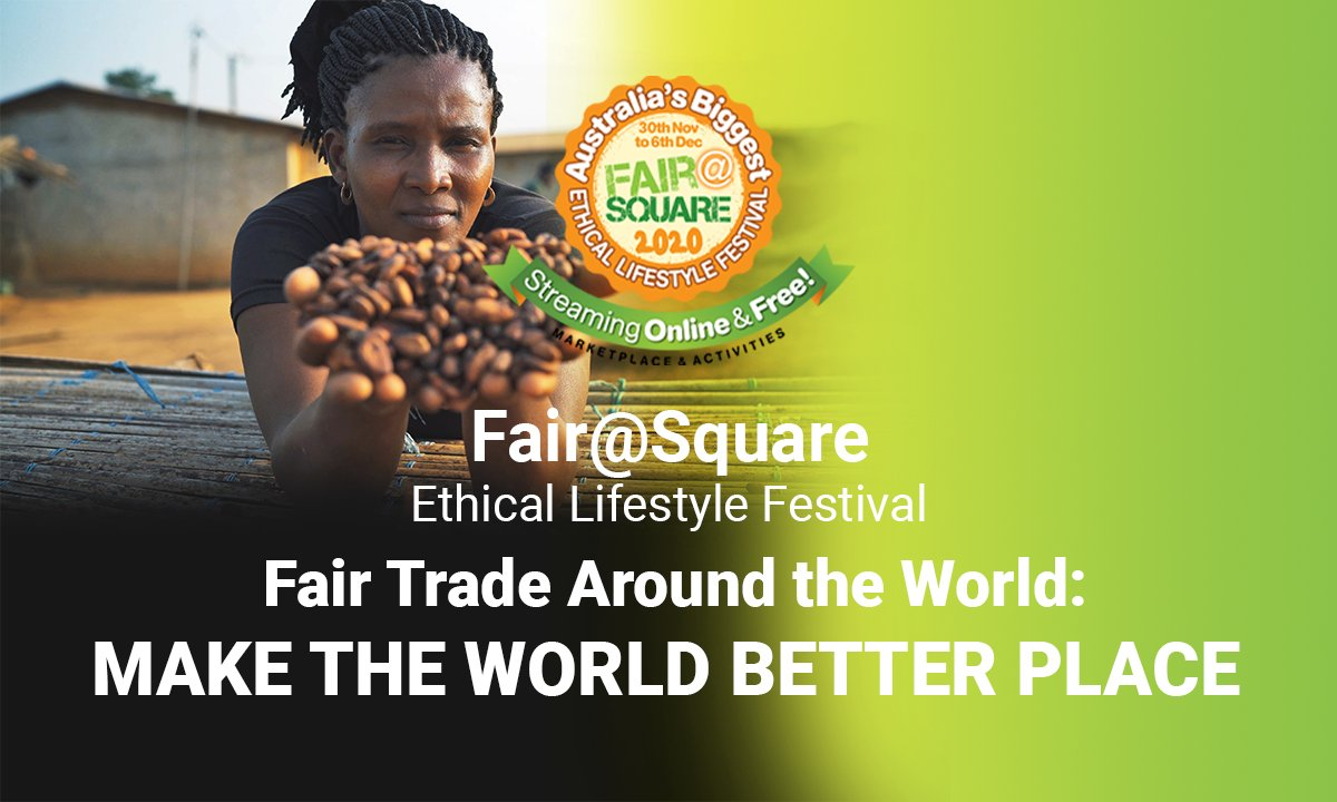 Make the World a Better Place is a film that will be screening tomorrow at 12:00 pm, you will hear the voices of the people who directly experience just how close our world is to a point of no return. moralfairground.com.au/fairsquare-202… @FairtradeAU @QiTeas #fairtrade #documentary