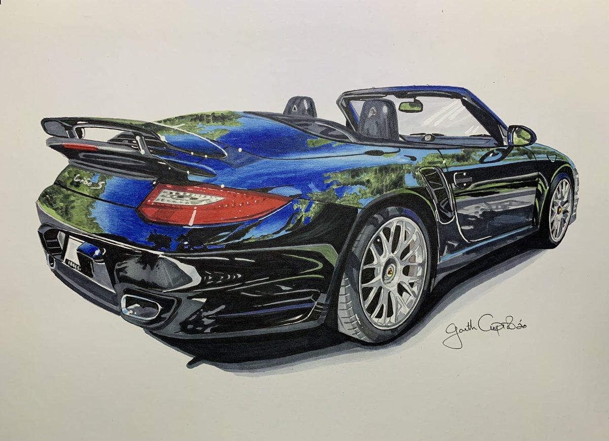 My attempt at drawing a Porsche Turbo S 🙈 @Porsche #porsche https://t.co/TASyRG7RDA