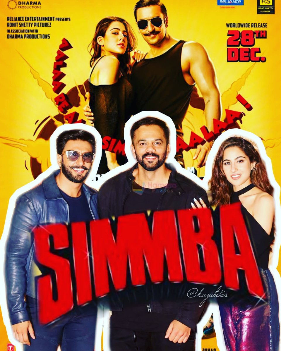 2 years to this day Simmba trailer launch.. #RanveerSingh energy meets #SaraAliKhan exuberance with #RohitShetty powerful direction they created shockwaves at the box office. This trio needs to come back 😫 I want my #SaraVeer back.