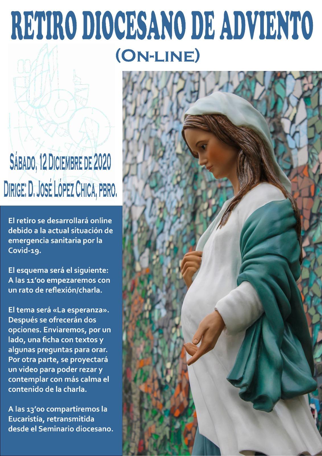 """La Esperanza"" como tema de reflexión del próximo retiro espiritual organizado por el Centro Diocesano de Espiritualidad."