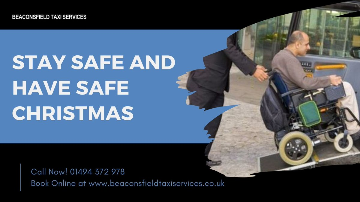 STAY SAFE AND HAVE SAFE CHRISTMAS! As Christmas arrives soon, We wish you to have a great beginning to the new year.   Ph: 01494 372 978 Book Beaconsfield Taxis:   #ThursdayThoughts #thursdaymorning #InternationalDayofPersons #beaconsfieldtaxis