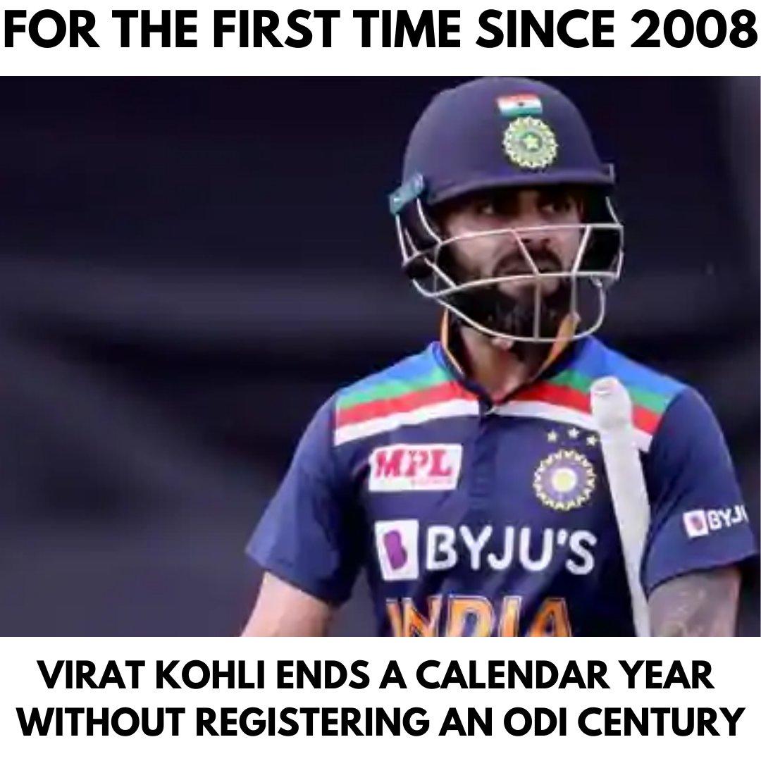 #INDvsAUS: No Century for Virat Kohli this Year... . #Cricket #AUSvsIND #IndiavsAustralia #australiatour #indiancricket #sports #IndianCricketTeam #AUSvIND #INDvAUS #ViratKohli