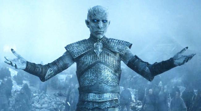 Counting down my #top10 #villains of #fantasy   (10) White Walkers / Night King  (A Song of Ice & Fire 1996)  Let's just say the most prominent geographic feature of the series, the Wall, was built to, well, wall them up north  @comicsandroses @Tatiana19796
