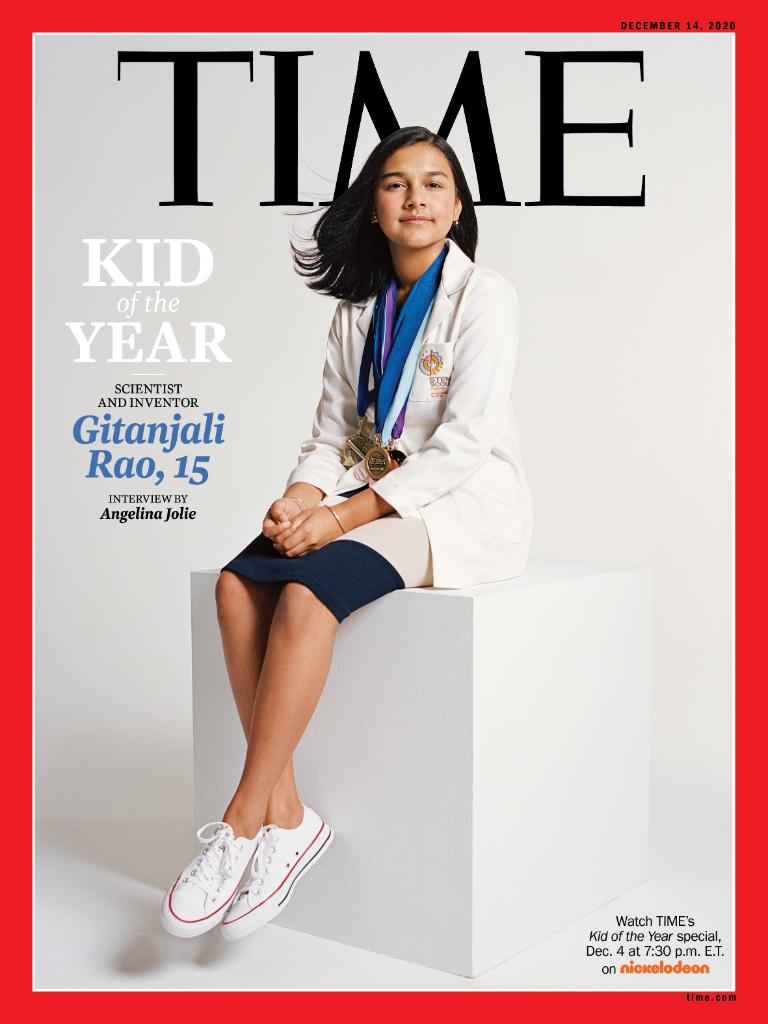 Introducing the first-ever Kid of the Year, Gitanjali Rao