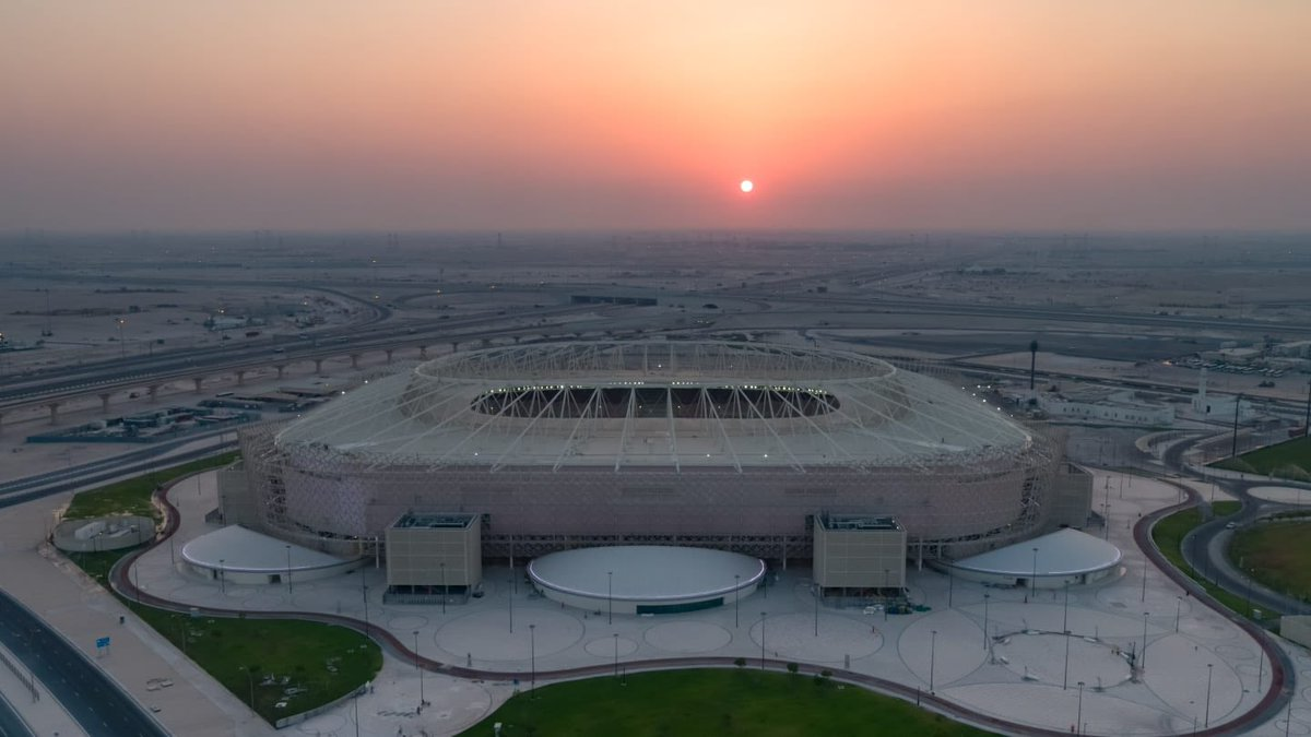 With less than #2YearsToGo, preparations for the #Qatar2022 @FIFAWorldCup are speeding up! This month, we will inaugurate the new Al Rayyan Stadium, the recipient of a ⭐⭐⭐⭐ #GSAS Design & Build Certification for its sustainable design and low carbon footprint ♻️