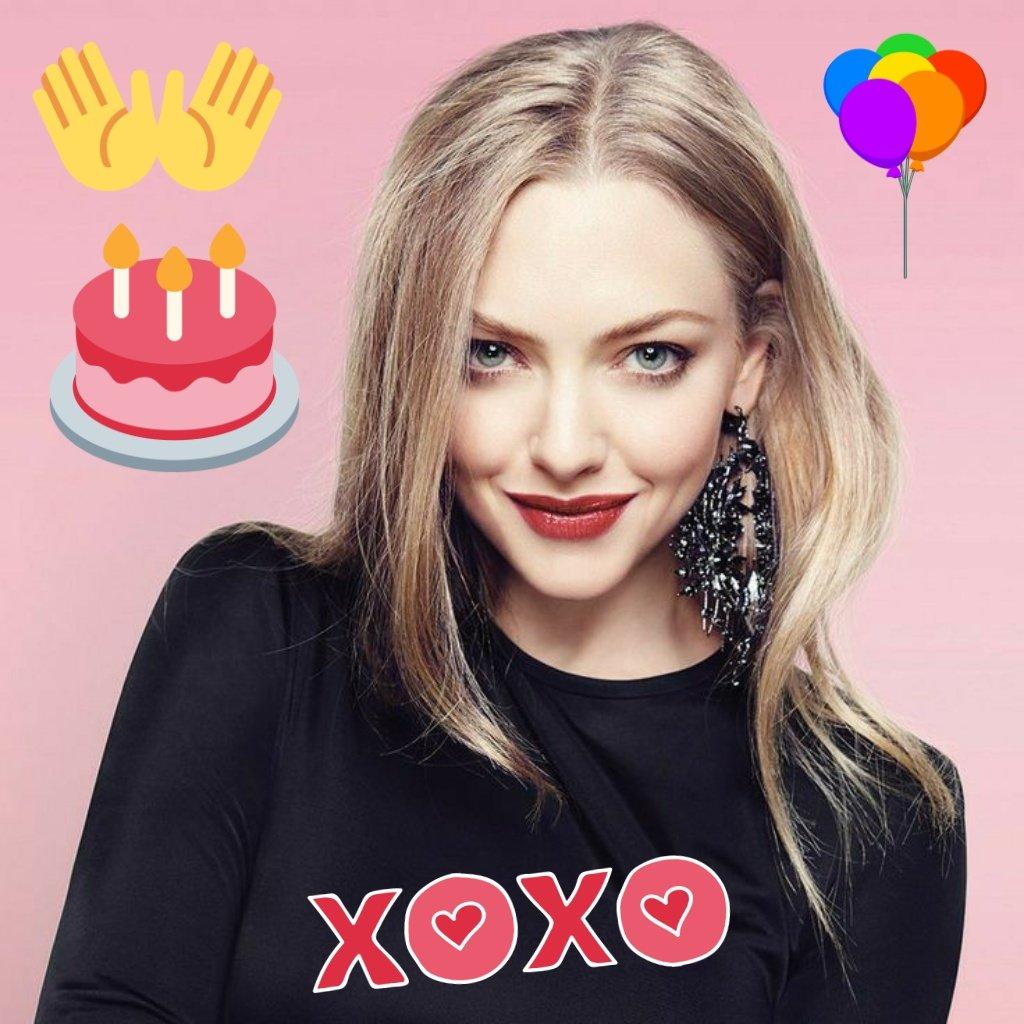 Wish you a very Happy Birthday! 😊 @AmandaSeyfried #AmandaSeyfried  #artist #happybirthday #birthday #love #happy #cake #party #birthdaycake #birthdaygirl #instagood #like #family #instagram #photographyArt #photooftheday #follow #friend #birthdayparty #balloons #Hollywood