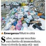 Image for the Tweet beginning: Io, sacchetto zero. Oggi su