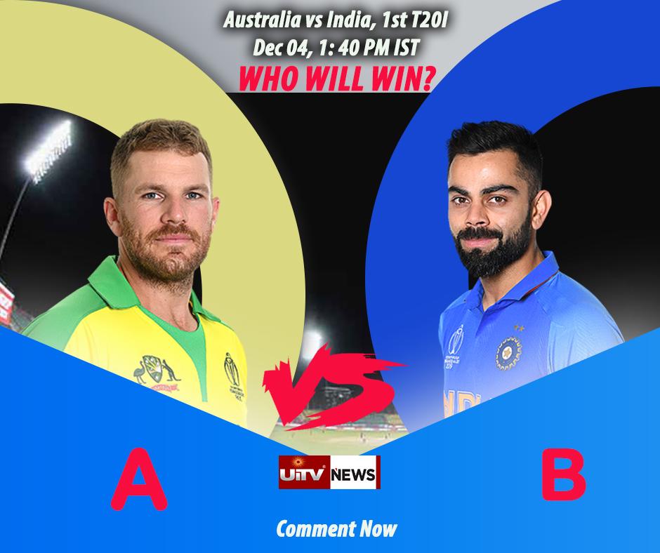 Predict the Winner #Australia vs #India, 1st T20I Manuka Oval, Canberra - Dec 04, 1:10 PM, IST #ausvsind #indvsaus  #cricket #cricketaustralia #viratkohli #indiacricket #1stT20I #indiancricketteam #cricketer #stevesmith #Teamindia #kohli #indiancricket