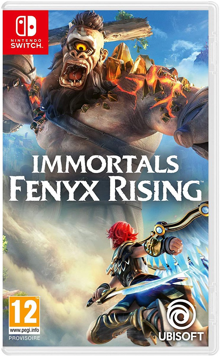 #ImmortalsFenyxRising est dispo ! 🗡  Le meilleur prix #Switch est ici (44€) : ➡️ https://t.co/5xyXWwvMQa Le meilleur prix #PS5 est ici (54€) : ➡️ https://t.co/uGUgXG2Or5 https://t.co/7ILpRzLwwO