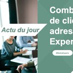 Image for the Tweet beginning: 🎄#LeSaviezVous Experis adresse 600 clients