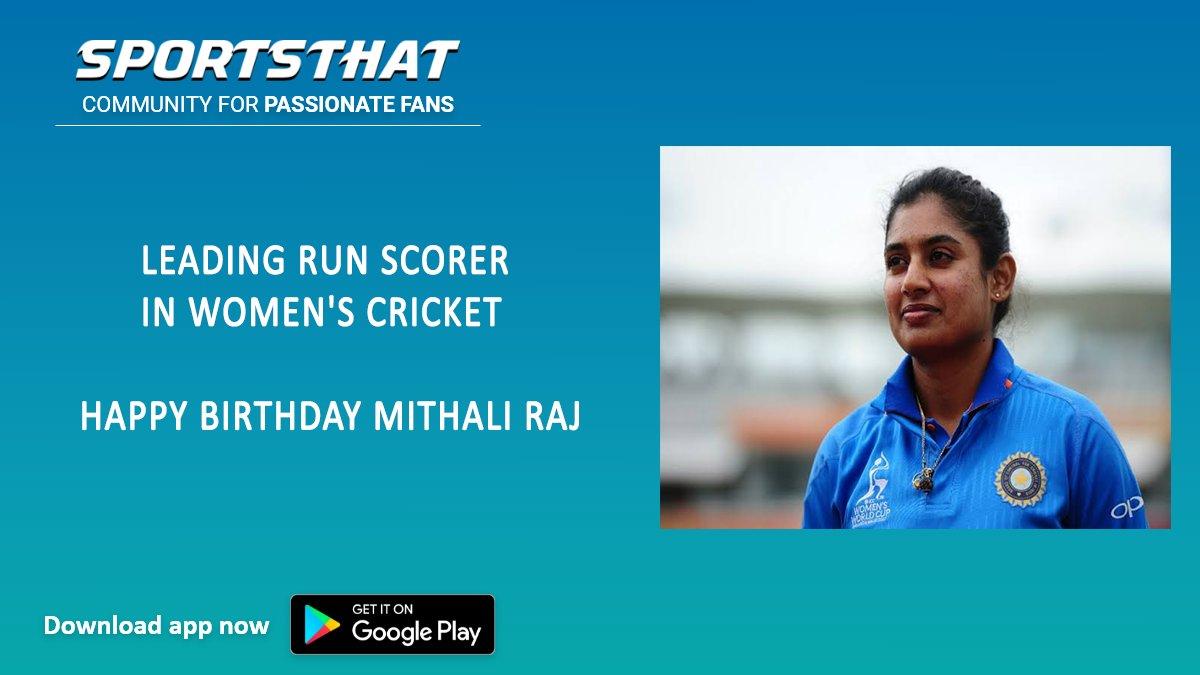 Happy Birthday Mithali 🤩😍🥳  #crickettogether #whiteballcricket #cricket #indiancricket #indiancricketteam #mithaliraj #mithali #womenscricket #womenst20challenge #indianwomenscricketteam #cricketfans #cricket🏏 #cricketlife #cricketfever