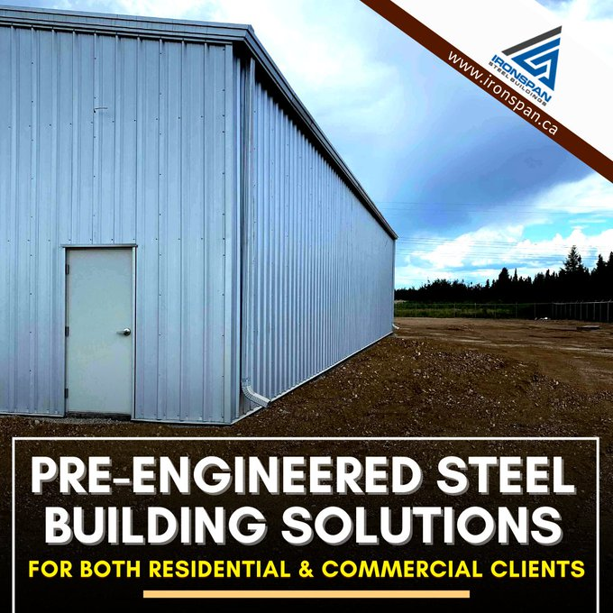 We provide pre-engineered steel building solutions in Canada. Visit now https://t.co/ZMnPbNVIK3  #steel #SteelBuilding #architecture #Engineering  #Construction #building #commercial #industrial #Canada #developers #like4likes #follo4folloback https://t.co/ULQPEtHueR