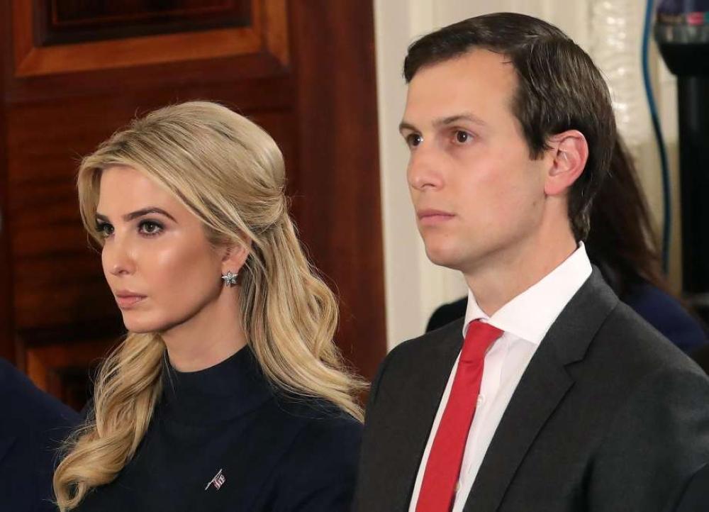 إيفانكا ترامب وزوجها يخضعان للتحقيق في واشنطن