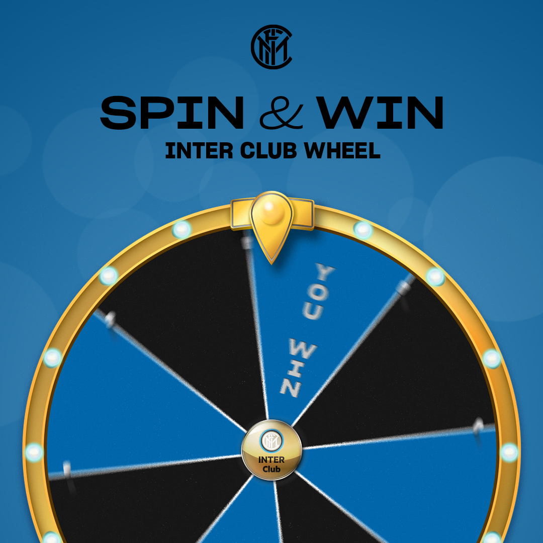 ☸️ | INTER CLUB  Inter Club Wheel, the first contest dedicated to #InterClub members 👨👩👧👦⚫️🔵  Check out the prizes and how to participate 👉