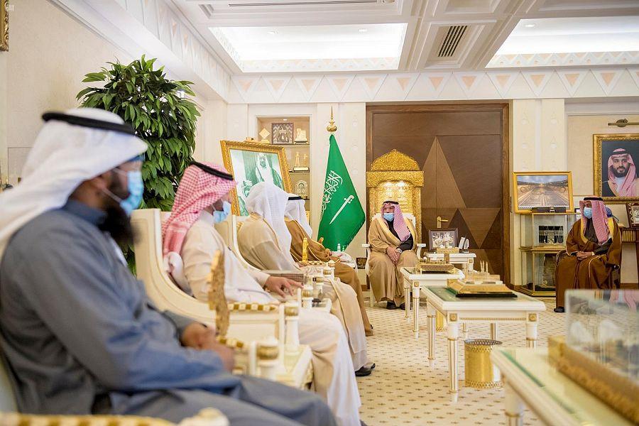 سمو الأمير فيصل بن مشعل يشهد توقيع مذكرة تفاهم بين اللجنة النسائية التنموية بـ #القصيم وجمعية أسرة.  #واس_عام