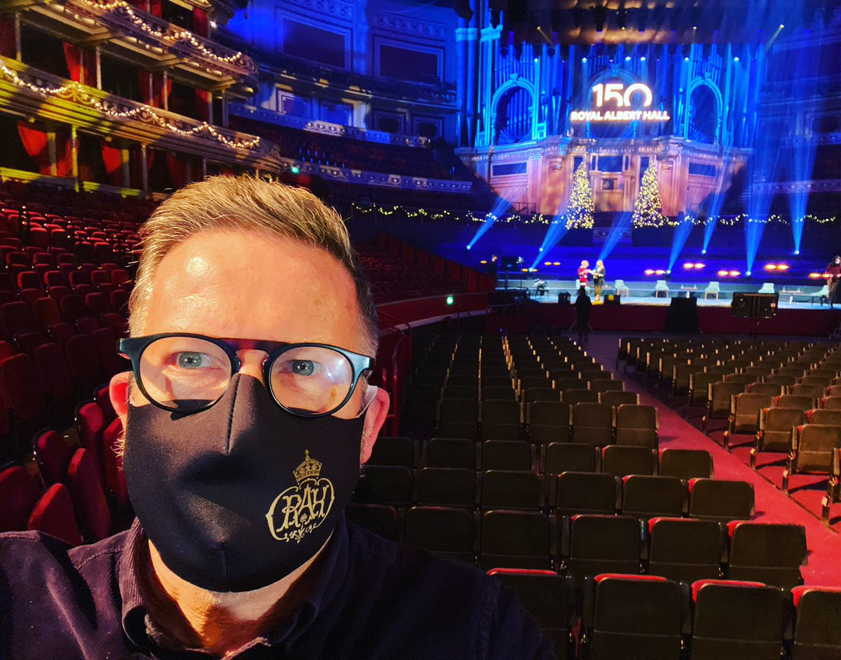 Epic news from an iconic venue this morning! 🚘👤 @New_Adventures @RoyalAlbertHall #TheCarMan #RoyalAlbertHall150