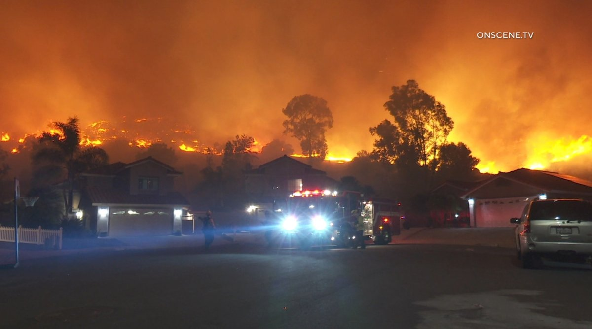 Fire crews said they stopped the spread of the #WillowFire just before 1:20 a.m. Thursday after hours of working against high winds and dry conditions. It has scorched 25 acres and is 5% contained, according to Cal Fire.