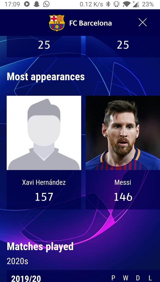 This is the only record #Messi might not be able to claim/break #FCBlive #ChampionsLeague #UCL https://t.co/B08dlUlxdw