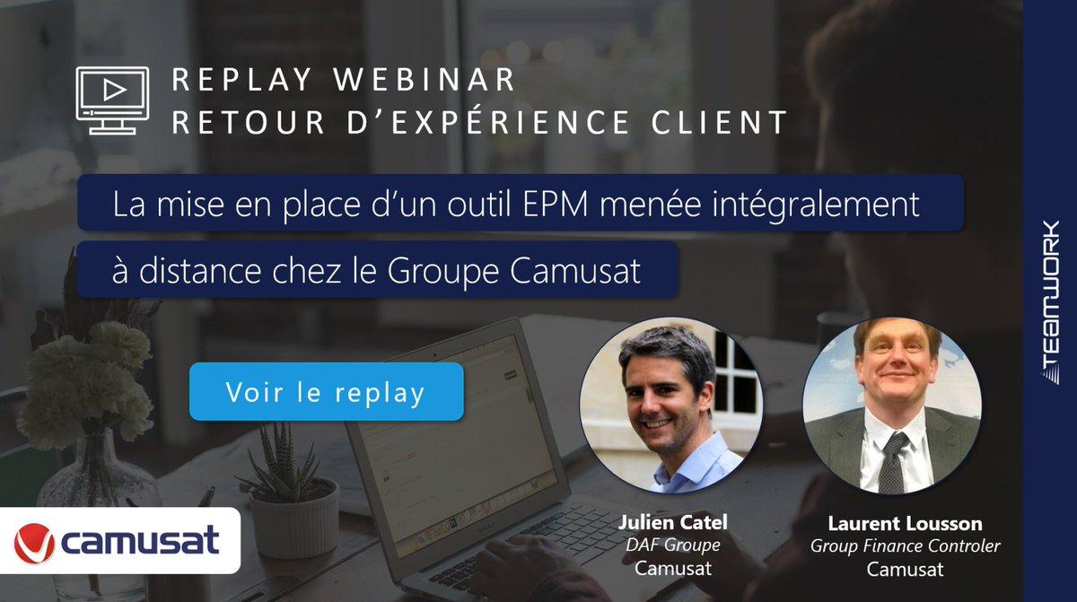 Image for the Tweet beginning: 🙋♂️#Replay #Webinar Retour d'expérience client